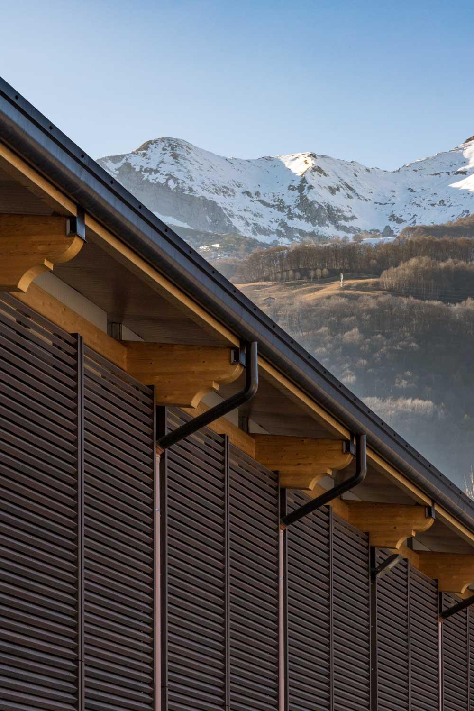 Frangisole in WPC per terrazzi